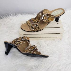 Exquisite Ramu Gold Animal Sandals 41 11